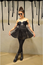 Q2HAN top - self-made tutu Q2HAN skirt