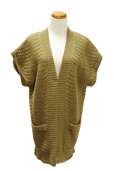 light brown Qi cashmere sweater