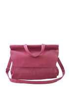 Pink Briefcase Shoulder Bag