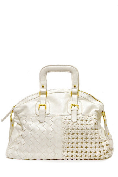 white oversized bag