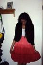 H-m-blazer-charlotte-russe-blouse-thrifted-skirt
