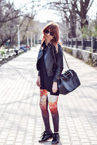 romwe leggings - zeroUV sunglasses - Romwecom sneakers