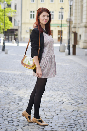 meli melo bag - asos dress - persumall flats - meli melo necklace