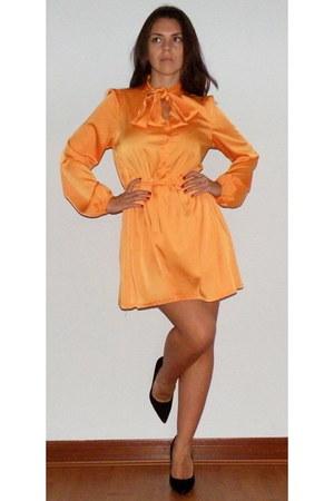 orange bow My Own dress