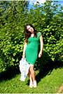 Turquoise-blue-vtg-dress