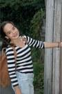 Black-striped-h-m-shirt-light-brown-leather-levis-bag-light-blue-zara-jumper
