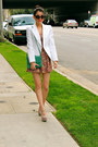 Salmon-cotton-h-m-dress-white-cotton-forever-21-blazer