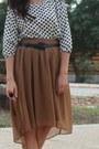 Bronze-forever-21-skirt-kohls-heels-ivory-forever-21-top