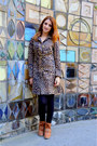 Bronze-local-store-dress-bronze-h-m-jacket