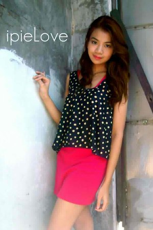 hot pink dress - ipieLove top