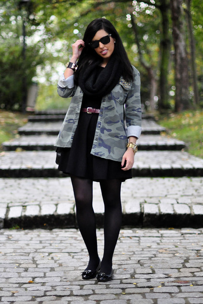 Lefties jacket - Lefties dress - Uterqüe loafers