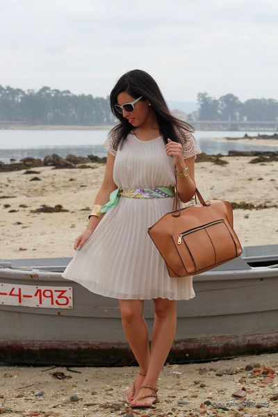 Zara dress - Zara bag - Zara sandals