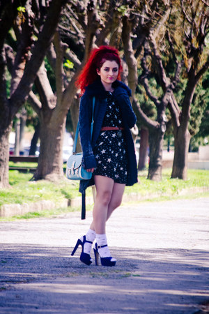 Sheinside dress - Steve Madden shoes - OASAP bag