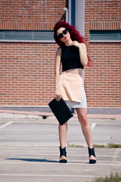 Front Row Shop skirt - Zara shoes