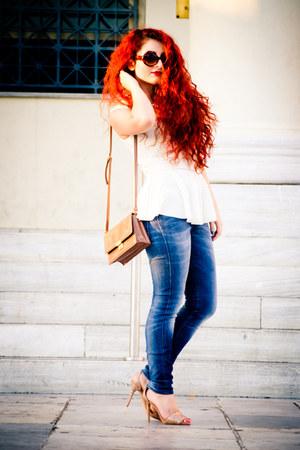 Zara top - Zara heels