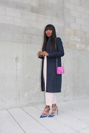 Zara coat - PROENZA SCHOULER bag - Topshop pants - Valentino heels