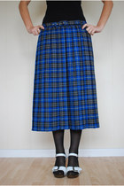 Blue-unknown-skirt