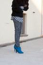 Cupid-boots-black-31-philip-lim-sweater-leopard-print-patrizia-pepe-pants