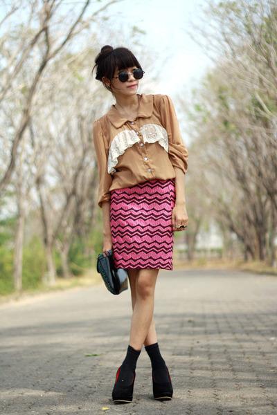 from japan top - joliez skirt