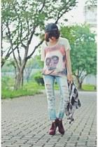 AhaIShoppingcom t-shirt - unbranded jeans