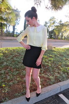 Forever 21 top - banana republic skirt - Zara heels