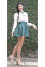Light-blue-zara-jacket-dark-green-h-m-skirt-black-tonnos-accessories