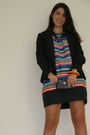 Zara-dress-porronet-shoes-zara-blazer-mudpie-bag