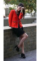 Zara jacket - Pimkie dress - Jessica Simpson heels