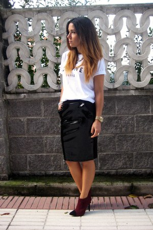 H&amp;M Trend skirt - Etsy t-shirt - Primark heels