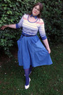 Calzedonia-tights-diadora-top-denim-handmade-skirt-il-laccio-flats