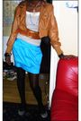 Brown-conway-jacket-black-primark-tights-gray-shoes-gold-belt-blue-fusio