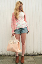 Newlook cardigan - livis shorts