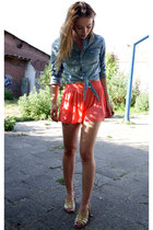 H&M shorts - H&M blouse - vintage sandals