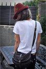 Brown-zara-hat-black-replay-jeans-brown-zara-clogs-brown-louis-vuitton-pur