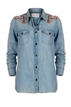 Carl Embroidery Shirt