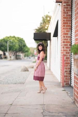 Topshop top - Topshop skirt - Aquazurra heels