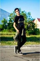 YRYS shirt - Bossini pants
