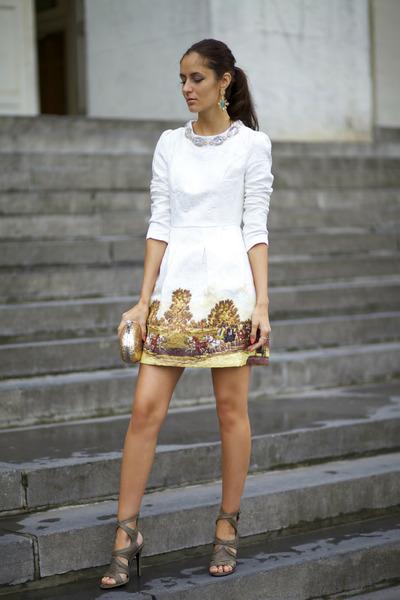 Chicwish dress - Chicwish earrings