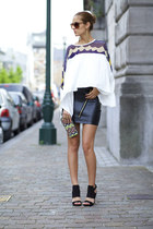 romwe blouse - romwe skirt