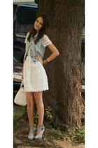 Zara dress - new look vest