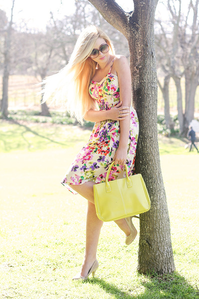 hot pink floral Mr Price dress