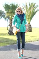 green Forever New heels