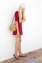 ruby red Mr Price dress