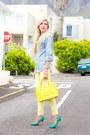 Light-yellow-romwe-jeans