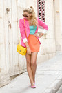 Hot-pink-zara-jacket