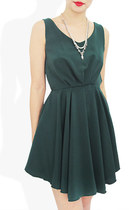 AMELIA PLEAT DRESS