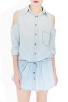 light blue StyleSofia dress
