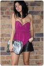 Purple-cooper-st-top-silver-steve-by-steve-madden-bag-black-valleygirl-short