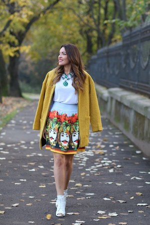 Sheinsidecom coat - choiescom skirt