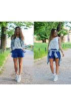 Vero Moda shorts - asos sneakers